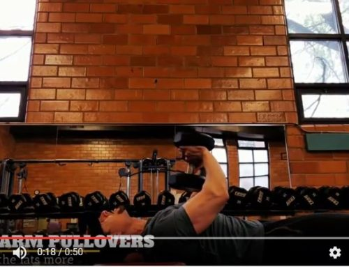 Dumbbell Pullovers for Lats, Pecs, Shoulders and Triceps